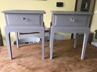 Refurbished Vintage Stag Bedside Tables/Lamp Tables