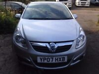 VAUXHALL CORSA 1.4 SXI 2007 NEEDS BODY WORK NO TIME WASTERS