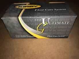 Kirby ultimate g series shampoo system and floor cleaner