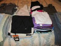 large black bag of size 10 ladies clothes