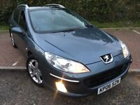 2006 Peugeot 407 SW 2.0 HDi SE 5dr Service History 9 Service stamps @07445775115