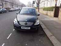Black Mercedes Bclass 1.5 2007 immaculate for a good car swap