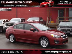 2014 Subaru Impreza 2.0i AWD/SUNROOF/EASY FINANCING AVAILABLE
