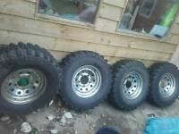Insa turbo 265 mud tires *4