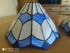 Tiffany style stained glass lamp shades