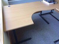 1 L-Shaped Desk - FREE