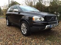 Volvo XC90 Executive 2.5 D5 AWD (185), Geartronic, Black, FVSH with Volvo Warranty, 1 Owner.