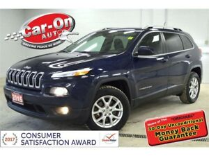 2015 Jeep Cherokee North 4X4 CRUISE BLUETOOTH ALLOYS