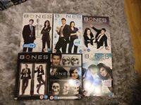 Bones up to and including season 6