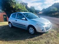 RENAULT CLIO 1.2 BIZU, MOT Aug 2019, Looks and drives superb (silver) 2011