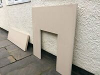 Fireplace Hearth and Backplate