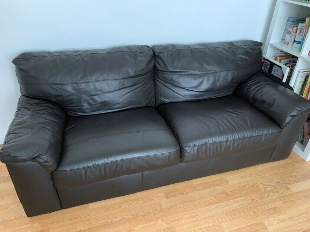 Pleasing Next 3 Seater Leather Sofa In Silverknowes Edinburgh Gumtree Pdpeps Interior Chair Design Pdpepsorg