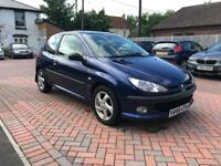 Peugeot 206 with 12 mts mot and full service history