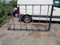 Van roof rack and ladders