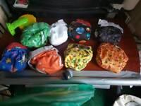 50 Washable nappies