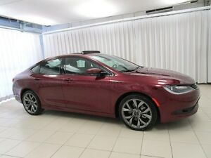 2016 Chrysler 200 IT'S A MUST SEE!!! 200S SEDAN w/ LEATHER INTER