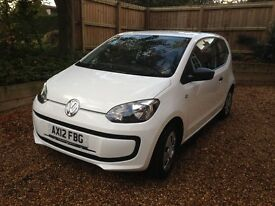 VW Up, great little car, reliable and easy to park!