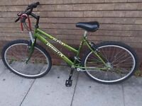 Mountain bike in good condition (suitable for both female and male)
