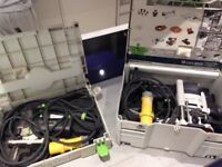 Festool router and jigsaw