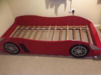 Child Racing Car Single Bed