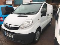 2012 62 Vauxhall Vivaro 2.0 CDTI WHITE VAN CLEAN NO VAT