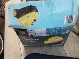 Electric steamer cleaner