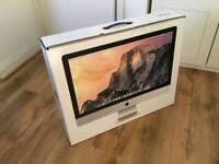 "iMac 27"" box"