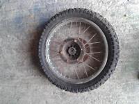 kmx 125/200 rear wheel