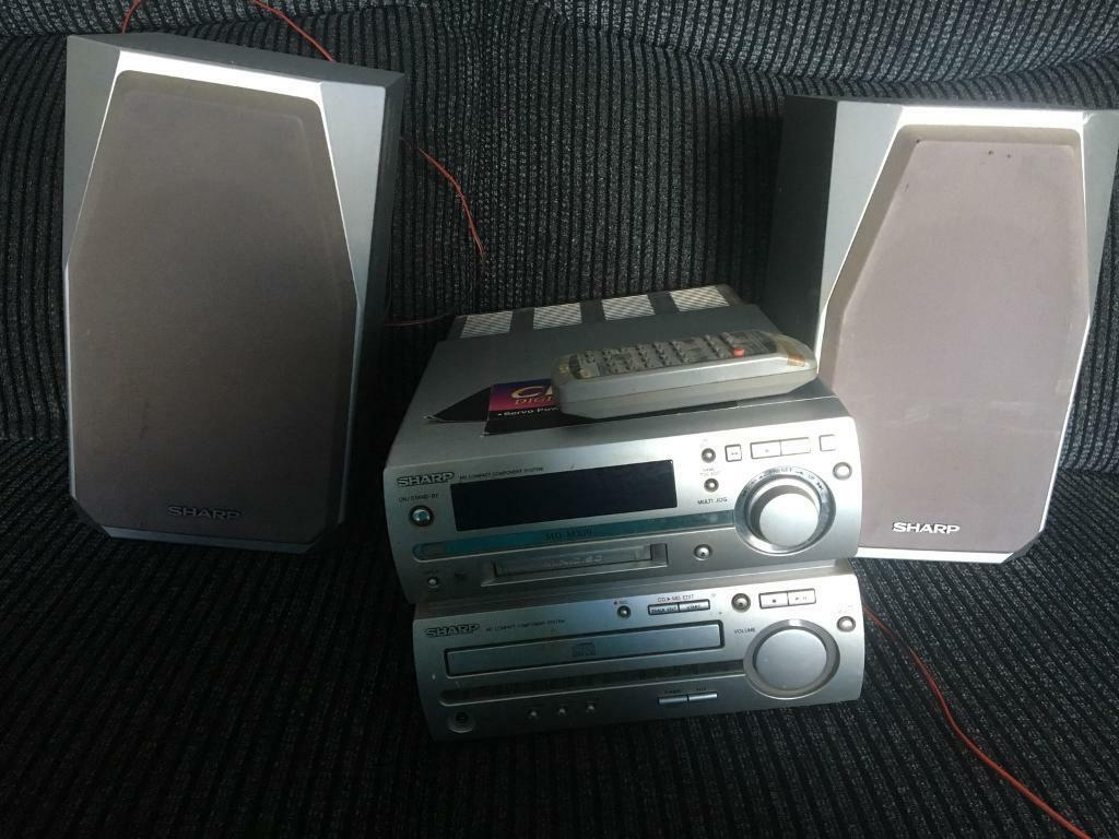 Mini disc player and cd player