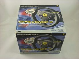 Boxed Thrustmaster Challenge 2 Racing Wheel for Gamecube -Very Good Condition.