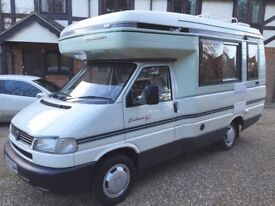 Auto Sleeper Clubman GL - 4 Berth Motorhome - VW T4 - 12/1998 - ONLY 50702 miles - Part Ex Welcome