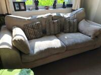 FREE - 3 seater sofa and 4 seater scatter back sofa