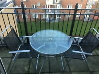 Outside Table and 6 chairs all in great condition