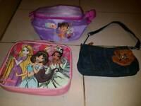 Bundle of 3 girl bags