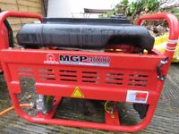Multi fuel generator. Butane Gas & Diesel. Pramac MGP 4000