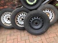 steel wheels 5x112