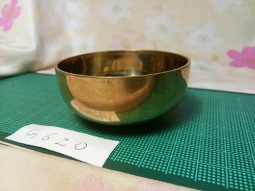 "2.657"" Japanese Buddhist Bell Gong Rin G620 Good Tone"