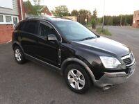 2008 Vauxhall antara 2.0 Cdti 4x4 automatic 12 months mot and 3 months parts and labour warranty
