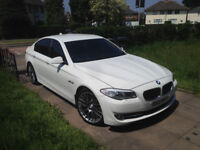 12 bmw 535d F10 auto full bmw sh hpi clear 50k miles 1 owner white fully loaded £14850 ono
