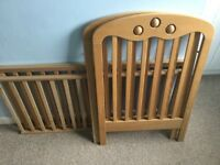 Wooden Child Cot