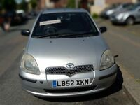 Toyota yaris automatic 5 door hatchback HPi CLEAR.