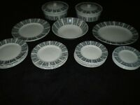 Vintage 1950s Dinner Service Tureens Serving Plate Large Bowl Various Plates