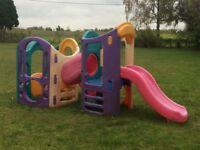 LITTLE TIKES 8 in 1 playground slide outdoor toy
