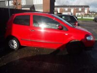 VW FOX (POLO) 2009 ONLY 68000 MILES SPARES OR REPAIR RUNS AND DRIVES HAS MISFIRE NEEDS COILPACK
