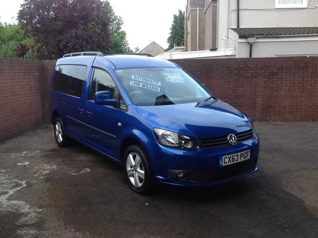 Volkswagen caddy maxi life 1.6 TDI , DSG Automatic,7 seater 7,000 miles from new