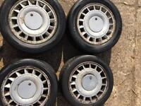 "15x6.5"" Renault Clio speedline maracana turbine Williams wheels"