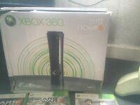 Xbox 360 elite steering wheel an 7 games