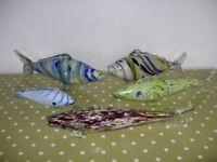 Murano glass fish £10 each