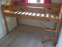 SOLD Stompa cabin bed mid sleeper child's bed