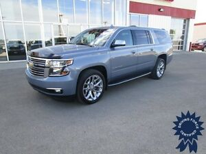 2016 Chevrolet Suburban 1500 LTZ 4x4 w/2nd Row Buckets, 7 Pass